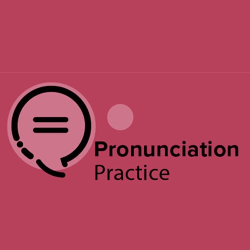 pronunciation practice