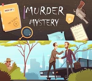 murder mystery game improve English skills