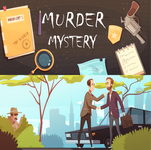 murder mystery team building activity